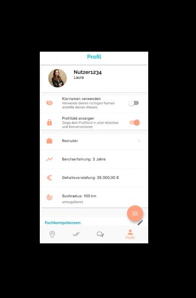 screen profil